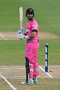 Northern Knights Daryl Mitchell during the Burger King Super Smash T20 cricket match between the Central Stags and the Northern Knights, McLean Park, Napier, Friday, January 25, 2019. Copyright photo: Kerry Marshall / www.photosport.nz