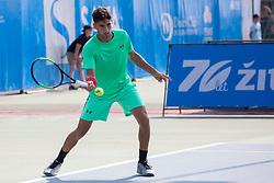 Altug Celikbilek (TUR) play against David Poljak (CZE) at ATP Challenger Zavarovalnica Sava Slovenia Open 2018, on August 6, 2018 in Sports centre, Portoroz/Portorose, Slovenia. Photo by Urban Urbanc / Sportida