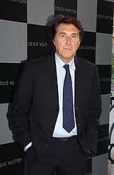 BRYAN FERRY at an art talk and dinner hosted by Louis Vuitton at The National Gallery, Trafalger Square, London on 25th May 2006.