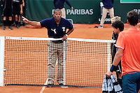 illustration arbitre  - 29.05.2015 - Jour 6 - Roland Garros 2015<br /> Photo : Nolwenn Le Gouic / Icon Sport