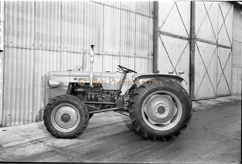 21/12/1965.12/21/1965.21 December 1965.Fiat tractors at McCairns, Santry.