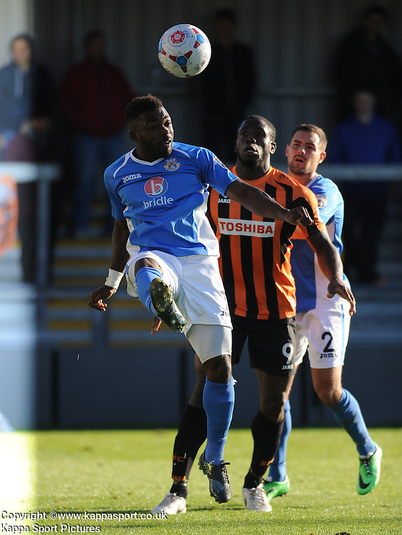 Yemi Odubade, Eastleigh, Barnet v Eastleigh, Vanarama Conference, Saturday 4th October 2014