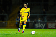Callum Kennedy (23) of AFC Wimbledon during the Pre-Season Friendly match between Wycombe Wanderers and AFC Wimbledon at Adams Park, High Wycombe, England on 25 July 2017. Photo by Graham Hunt.