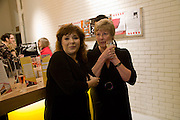 HARRIET THORPE; DAWN KEELER, The Actors Centre's 30th Birthday Party. 1a Tower St, Covent Garden. London. 2nd November<br />