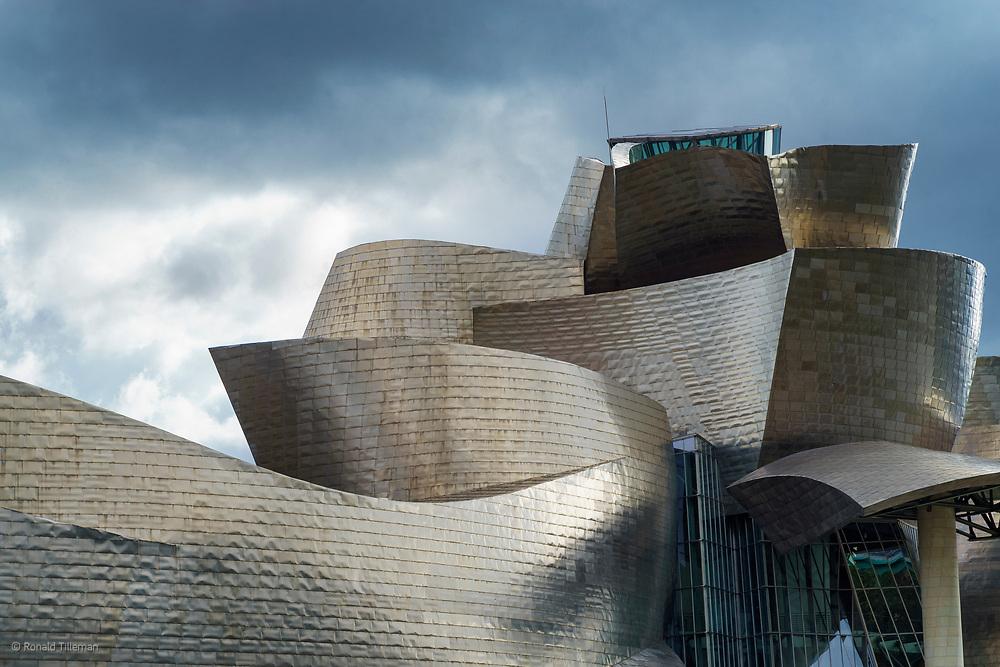 Guggenhem, Bilbao by Frank Gehry