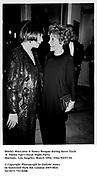 Shirley MacLaine & Nancy Reagan during Steve Tisch &  Vanity Fair's Oscar Night Party,<br />Mortons,  Los Angeles. March 1994.  Film 94557/10<br /> <br />© Copyright Photograph by Dafydd Jones<br />66 Stockwell Park Rd. London SW9 0DA<br />Tel 0171 733 0108.