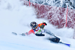 Women's Giant Slalom, ZHANG Wenjing, LW12-1, CHN at the WPAS_2019 Alpine Skiing World Championships, Kranjska Gora, Slovenia