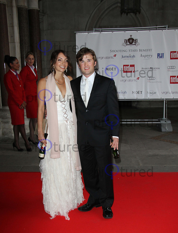 Haley Joel Osment; Olivia Mia Orozco FitFlop Shooting Stars Benefit closing ball, The Royal Courts of Justice, Strand, London, UK, 05 August 2011:  Contact: Rich@Piqtured.com +44(0)7941 079620 (Picture by Richard Goldschmidt)