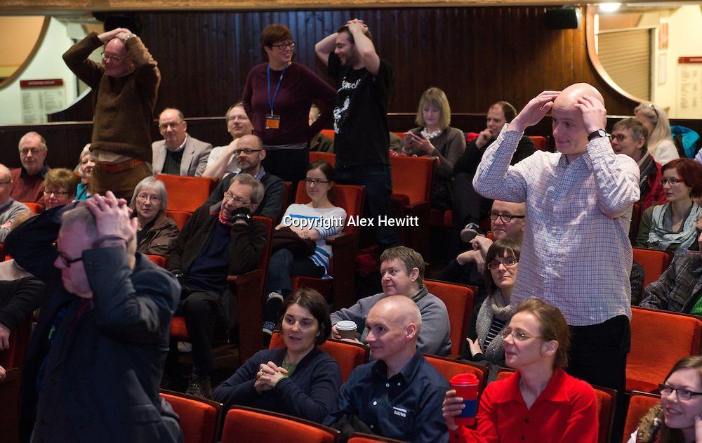The Hippodrome Festival of Silent Cinema <br /> Wednesday 18th March - Sunday 22nd March 2015.<br /> <br /> Saturday 21st March.<br /> <br /> Picture by Alex Hewitt