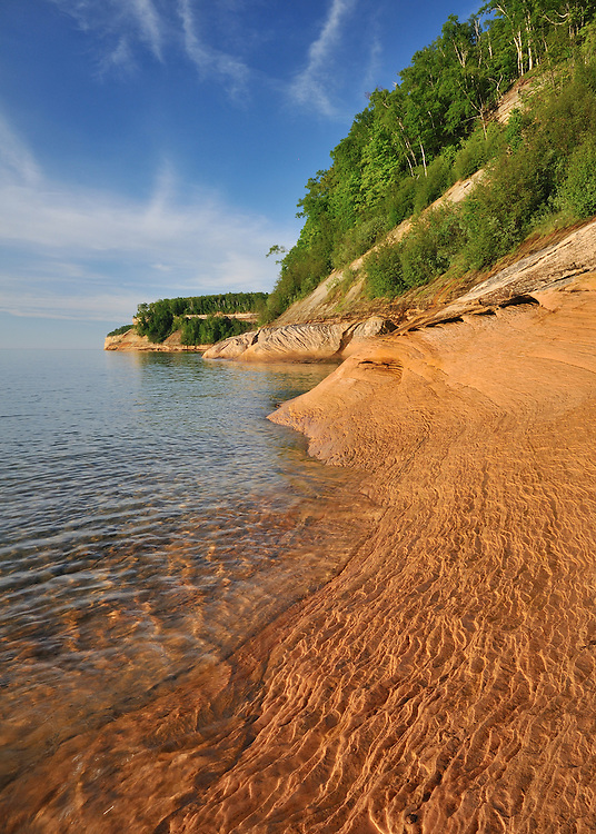 Pictured Rocks National Lakeshore,<br />