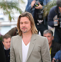 Brad Pitt at the Killing Them Softly photocall at the 65th Cannes Film Festival France. Tuesday 22nd May 2012 in Cannes Film Festival, France.