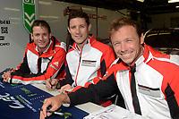 Patrick Pilet (FRA) / Kevin Estre (FRA) / Nick Tandy (GBR)  #91 Porsche Motorsport Porsche 911 RSR (2016), . Le Mans 24 Hr June 2016 at Circuit de la Sarthe, Le Mans, Pays de la Loire, France. June 14 2016. World Copyright Peter Taylor/PSP.