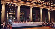 Diana and Arthur's wedding.  St Vincent de Paul Roman Catholic Parish (Los Angeles Historic-Cultural Monument (No. 90)) in the South Los Angeles section of Los Angeles, California.  Reception at The Millennium Biltmore Hotel (originally opened as the Los Angeles Biltmore Hotel on Oct. 1, 1923), also in Los Angeles, California. <br /> <br /> Photo Copyrighted by German Silva.