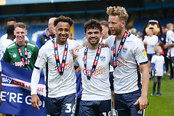 Bury FC celebrate promotion - Mandatory by-line: JMP - 04/05/2019 - FOOTBALL - Gigg Lane - Bury, England - Bury v Port Vale - Sky Bet League Two