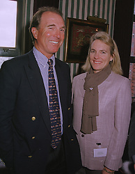 CAPT.MARK & MRS PHILLIPS the former husband of the Princess Royal, at a reception in London on 9th March 1999.MPE 25