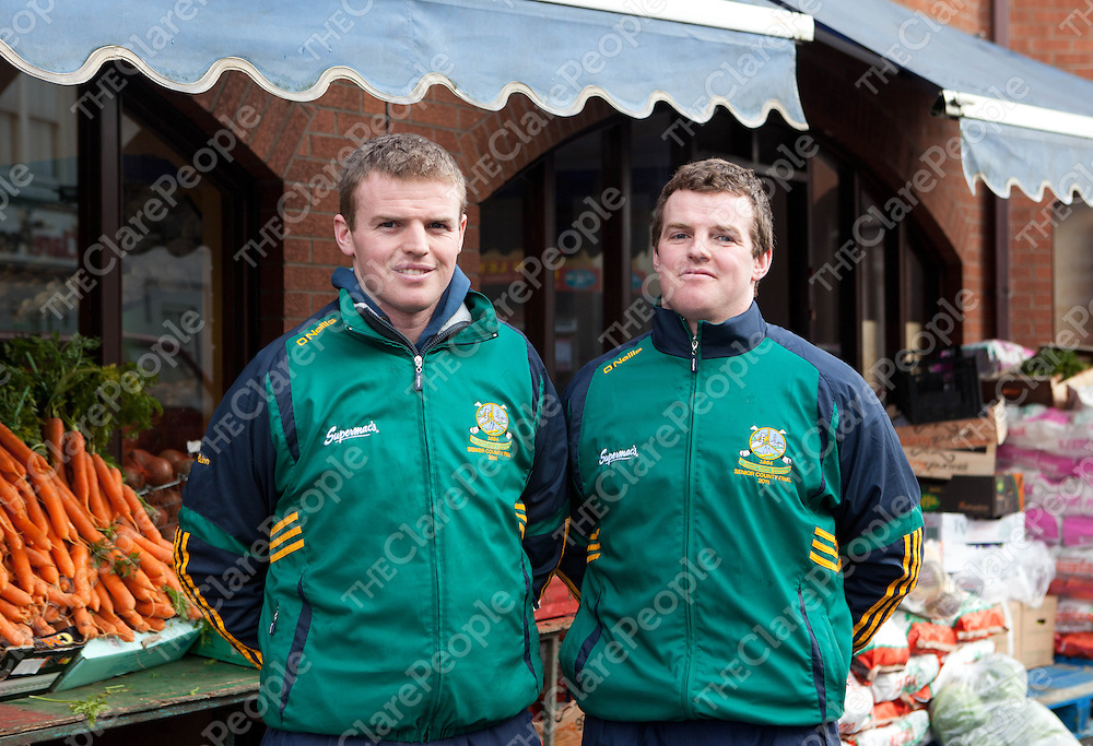 Gerry and Noel Quinn, Gort GAA.  Pic: Press 22.
