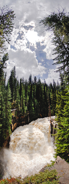 High water at Ousel Falls in Big Sky.  Limited Edition - 75