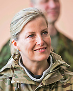 Sophie Wessex Visits Brigade Training Wing, Estonia