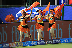 April 29, 2018 - Jaipur, Rajasthan, India - Sunrisers  Hyderabad cheerleaders during the IPL T20 match against Rajasthan Royals at Sawai Mansingh Stadium in Jaipur on 29th April,2018. (Credit Image: © Vishal Bhatnagar/NurPhoto via ZUMA Press)
