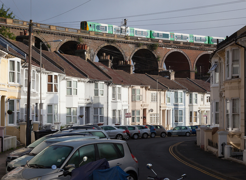 Completed in 1846, this landmark which dominates the London Road area of Brighton isn't an especially beautiful construction. But it does serve as a constant reminder to cars stuck in traffic underneath that there is an alternative to driving.
