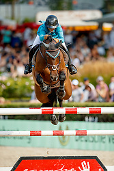 Goldstein Danielle, ISR, Cooler Than Me<br /> CSI5* Championat de Deutschen Kreditbank AG von Berlin<br /> Longines Global Champion Tour of Berlin 2017<br /> © Hippo Foto - Dirk Caremans