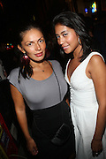 l to r: Veronica Ramos and Anna Aragon at Vanessa Simmons' Birthday Celebration held at Su Casa on August 7, 2009 in New York City