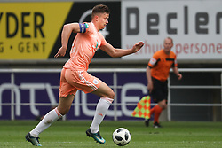 May 13, 2018 - Gent, BELGIUM - Anderlecht's Leander Dendoncker pictured in action during the Jupiler Pro League match of Play-Off group 1, between KAA Gent and RSC Anderlecht, in Gent, Sunday 13 May 2018, on day nine of the Play-Off 1 of the Belgian soccer championship. BELGA PHOTO VIRGINIE LEFOUR (Credit Image: © Virginie Lefour/Belga via ZUMA Press)
