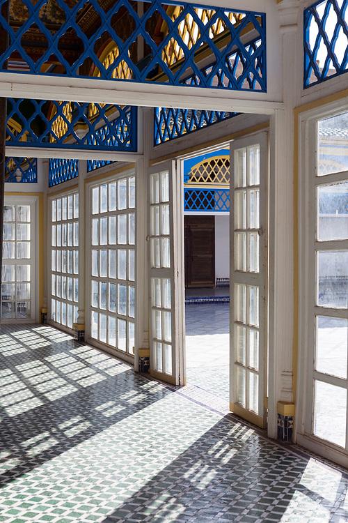 Bahia Palace Riad Architecture, Marrakesh, Morocco, 2017–12-05.
