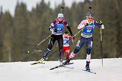 Regina Oja (EST) during Women 15km Individual at day 5 of IBU Biathlon World Cup 2018/19 Pokljuka, on December 6, 2018 in Rudno polje, Pokljuka, Pokljuka, Slovenia. Photo by Ziga Zupan / Sportida