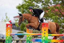 Philippaerts Anthony, BEL, All Right du Genet<br /> Belgisch kampioenschap Young Riders - Azelhof - Lier 2019<br /> © Hippo Foto - Dirk Caremans<br /> 30/05/2019