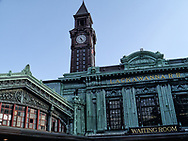 The Lackawanna Railroad building from 1907 in Hoboken, NJ