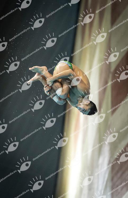 SANCHEZ German MEX<br /> FINA/NVD Diving World Series -   <br /> Hamdan Bin Rashid Bin Mohammed Sport Complex<br /> Dubai 19 - 21  March 2015<br /> Day 3 - March 21st<br /> Photo Giorgio Scala / Deepbluemedia