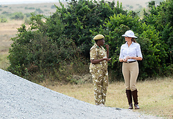 October 5, 2018 - Nairobi, Kenya - First Lady Melania Trump participates in a safari tour at the Nairobi National Park in Nairobi, Kenya. (Credit Image: ? Andrea Hanks/White House via ZUMA Wire/ZUMAPRESS.com)