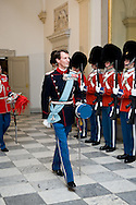 15.04.2015. Copenhagen, Denmark.<br /> Prince Joachim attended a Gala Dinner at Christiansborg Palace on the eve of The 75th Birthday.<br /> Photo:&copy; Ricardo Ramirez