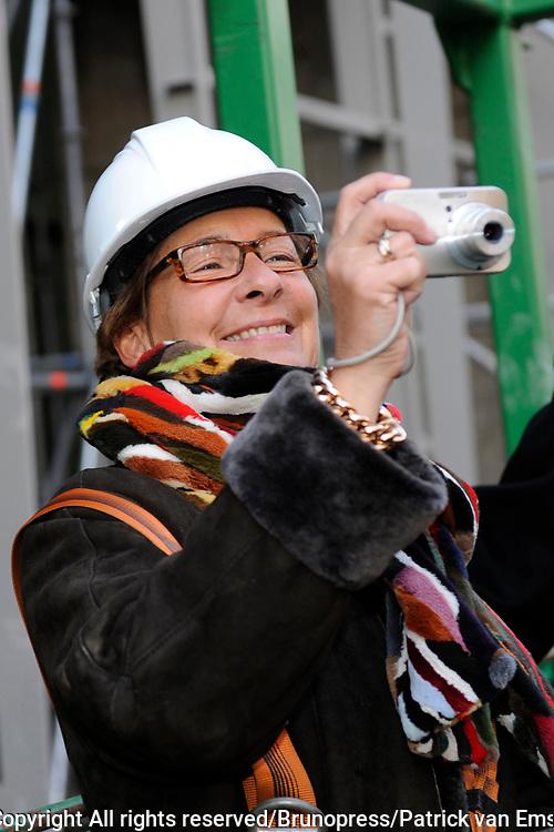 Hoogste Punt De La Mar Theater <br /> Op de foto:<br /> <br />  Janine van den Ende