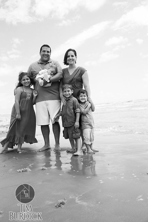 Family Portraits at Cinnamon Shore in Port Aransas, Texas by Tim Burdick Photography.