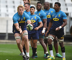 Cape Town-180619 Springbok player Pieter Steph du Toit during their training session at Cape Town stadium,the team is preparing for the last test  against England at Newslands on Saturday..Photographer:Phando Jikelo/African News Agency/ANA