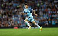 Football - 2016 / 2017 Champions League - Qualifying Play-Off, Second Leg: Manchester City [5] vs. Steaua Bucharest [0]<br /> <br /> Pablo Maffeo of Manchester City during the match, at the Ethihad Stadium.<br /> <br /> COLORSPORT/LYNNE CAMERON