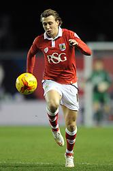 Bristol City's Luke Freeman - Photo mandatory by-line: Dougie Allward/JMP - Mobile: 07966 386802 - 29/01/2015 - SPORT - Football - Bristol - Ashton Gate - Bristol City v Gillingham - Johnstone Paint Trophy