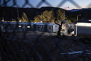 Refugee camps in Moria (Lesvos)