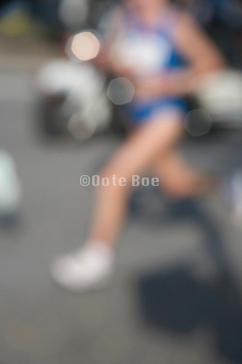 runner at the New York marathon
