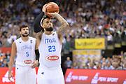 DESCRIZIONE : Berlino Berlin Eurobasket 2015 Group B Italy Germany <br /> GIOCATORE :  Daniel Hackett<br /> CATEGORIA : Tiro Libero<br /> SQUADRA :Italy<br /> EVENTO : Eurobasket 2015 Group B <br /> GARA : Italy Germany <br /> DATA : 09/09/2015 <br /> SPORT : Pallacanestro <br /> AUTORE : Agenzia Ciamillo-Castoria/I.Mancini <br /> Galleria : Eurobasket 2015 <br /> Fotonotizia : Berlino Berlin Eurobasket 2015 Group B Italy Germany