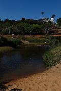 Pirenopolis_GO, Brasil.<br /> Igreja Matriz Nossa Senhora do Rosario na cidade historica de Pirenopolis, em primeiro plano o Rio das Almas, Goias.<br /> <br /> Nossa Senhora do Rosario Church in Pirenopolis, Goias and Rio das Almas.<br /> <br /> Foto: MARCUS DESIMONI / NITRO