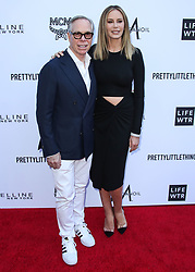 BEVERLY HILLS, LOS ANGELES, CA, USA - APRIL 08: The Daily Front Row's 4th Annual Fashion Los Angeles Awards held at the Beverly Hills Hotel on April 8, 2018 in Beverly Hills, Los Angeles, California, United States. 08 Apr 2018 Pictured: Tommy Hilfiger, Dee Ocleppo. Photo credit: Xavier Collin/Image Press Agency / MEGA TheMegaAgency.com +1 888 505 6342