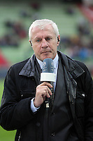 Luis FERNANDEZ  / JOURNALISTE ET CONSULTANTS BE IN SPORTS  - 10.04.2015 - Caen / Monaco - 32e journee Ligue 1<br /> Photo : Vincent Michel / Icon Sport