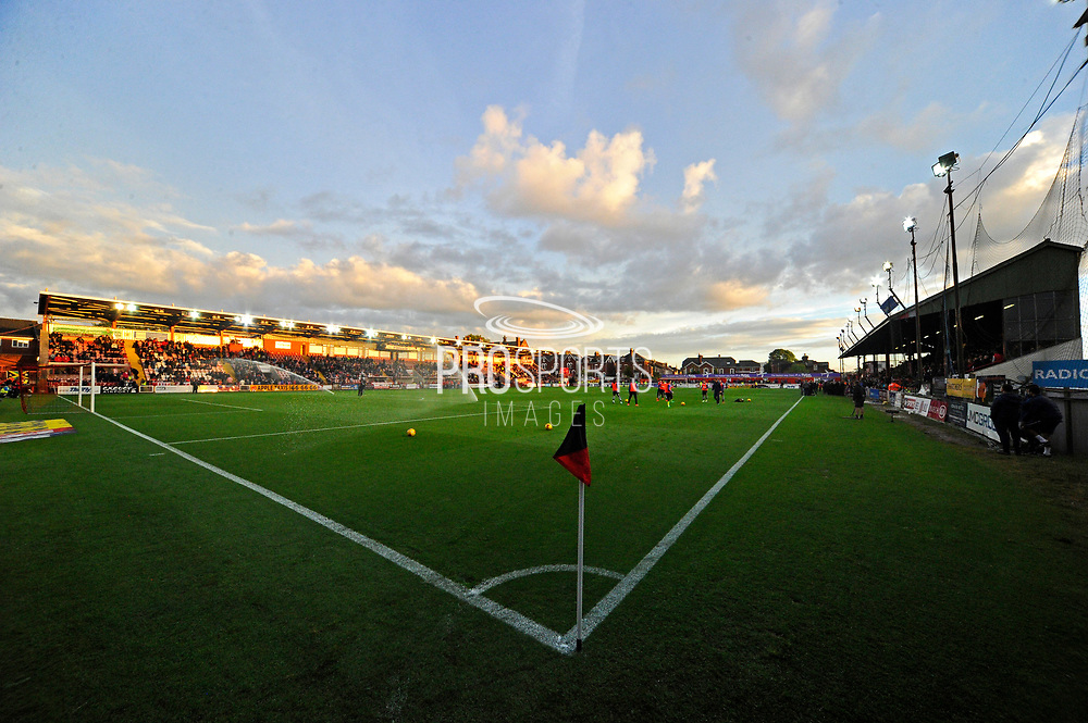 St James Park at Half Time during the EFL Sky Bet League 2 play off second leg match between Exeter City and Carlisle United at St James' Park, Exeter, England on 18 May 2017. Photo by Graham Hunt.