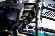 June 5-7, 2015: Canadian Grand Prix: Mercedes front wing detail