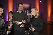 Michael Raedecker and Sophie von Hellemann, Turner Prize 2006. Tate Gallery. London. 4 December 2006. ONE TIME USE ONLY - DO NOT ARCHIVE  © Copyright Photograph by Dafydd Jones 248 CLAPHAM PARK RD. LONDON SW90PZ.  Tel 020 7733 0108 www.dafjones.com