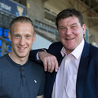 St Johnstone's Steven Anderson Signs New Contract…12.05.16<br />Steven Anderson pictured with manager Tommy right after siging a new contract to keep him at McDiarmid Park.<br />Picture by Graeme Hart.<br />Copyright Perthshire Picture Agency<br />Tel: 01738 623350  Mobile: 07990 594431