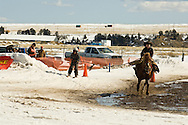 Kids, Ski Joring, Red Lodge, Montana